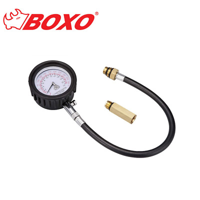 "Boxo - 64 mm (2.5"") Petrol Compression Tester for Cylinder Pressure - BOXVVE049"