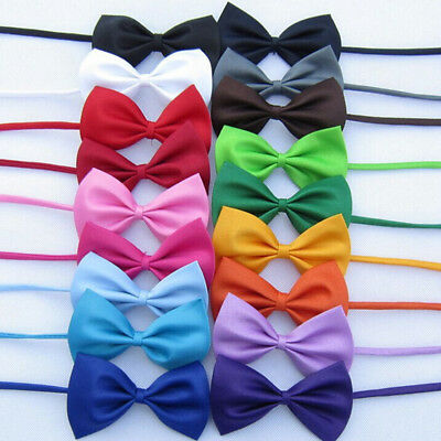 10 Pieces Dress Elegant Bowknot Dog Puppy Cat Necktie Bow Tie For Small Dog Pet