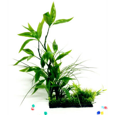 BL_ Fake Aquarium Plant Water Tree Grass Ornament Fish Tank Plastic Decor Unique
