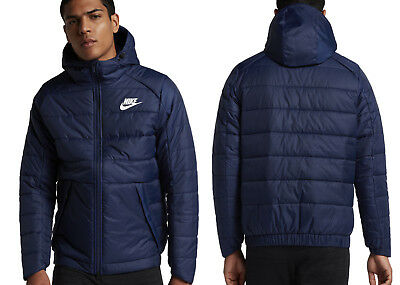 Hooded Men's Winter NIKE Thermore NSW NEW Lightweight Jacket rBxeodC