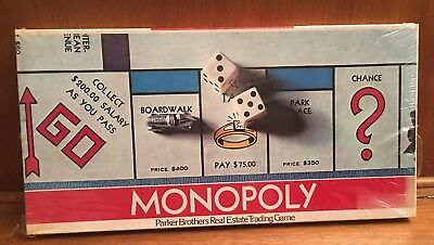 SEALED Vintage Parker Brothers 1961 MONOPOLY Board Game No 9
