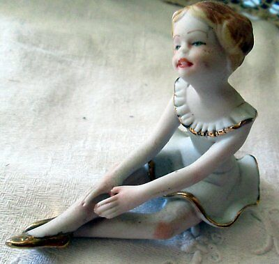 Figurineminiature Ballerine Biscuit Half Doll Tee Puppee Girl