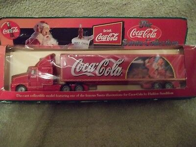 "Coca- Cola Santa Die-cast Truck - ""the Santa Collection"""