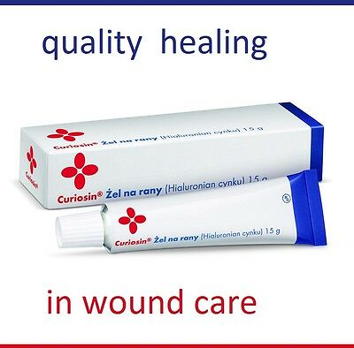 CURIOSIN 15 g Wound care Wound treatment  gel  hydrogel cream UK Fast delivery