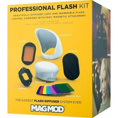 MagMod Professional Kit = MagGrip, MagSphere, MagBounce, MagGrid, MagGel + More