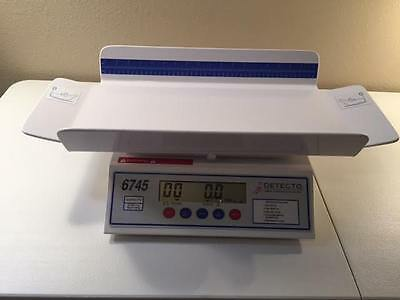 Cardinal Detecto 6745 Baby Scale 30LB Digital w Printer/Accessories/Calibrated