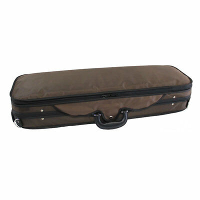 Koda High Quality, Light Weight Foam 4/4 Size Violin Case - BROWN