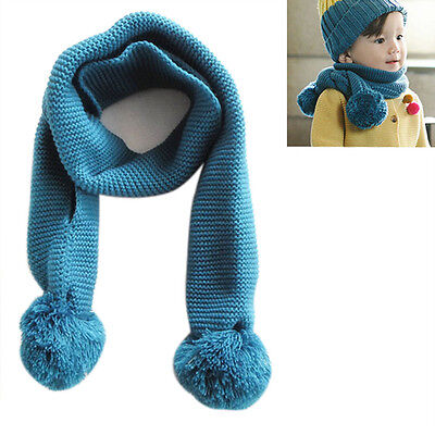 Fashion Baby Boy's Girl's Scarf Winter Warmer Knitting Warmer Scarves Neck Scarf