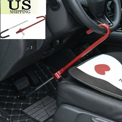 Universal Anti-Theft Car Steering Wheel Lock Security System Car Van SUV Truck V