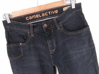 NV032 CAMEL ACTIVE JEANS HUDSON PANTS STRETCH ORIGINAL PREMIUM size 32 X 32 1b3a86233b