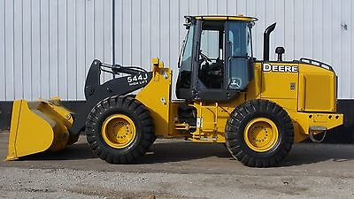 2003 John Deere 544J Wheel Loader