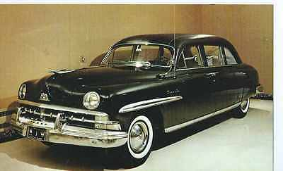 1950 Lincoln Cosmopolitan Limousine, Truman Museum, Independence, MO- Postcard