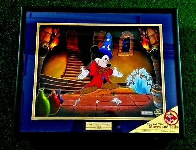"Animated Animations Art ""The sorcerer's Apprentice"" Disney Showcase Marc Segan"