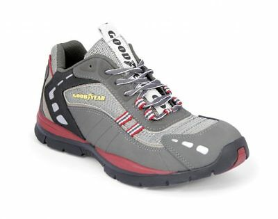 Goodyear Mens Safety Trainer GY3011 Grey Steel Toe Cap Size 7