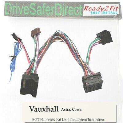 ISO-SOT-7440-q Lead,cable,adaptor for Parrot MKi9000 Subaru