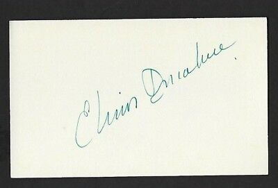"""Elinor Donahue signed autograph 3""""x 5"""" card """"Andy Griffith Show"""" Ellie Walker"""