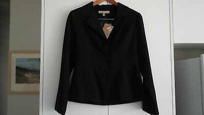 LADIES SUIT BY JUMP ITEMS woolmark fine pin striped   SIZE 10 NWT
