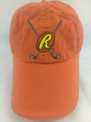 The Reese's Cup Orange Embroidered Hockey Strapback Dadhat OSFA