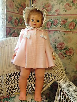 Vintage 30 Inches Playpal Size Chubby Toddler Eugene Doll 1978
