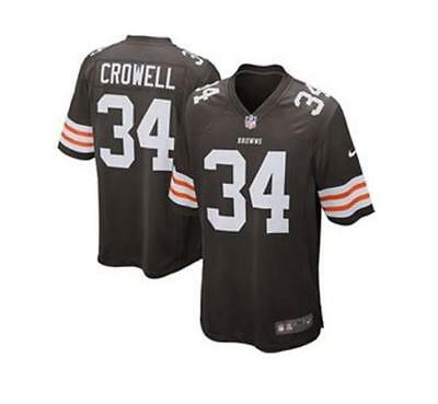 NWT CLEVELAND BROWNS Baby Jersey Crowell 18M $14.00 | PicClick