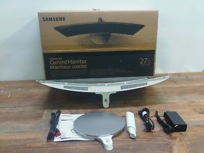 """New Samsung CF591 Series 27"""" LED Curved Monitor"""