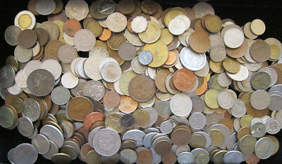 Over Five pounds of foreign coins (5 lb. + lot)