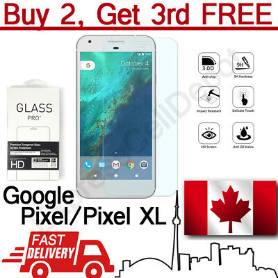 Premium Anti Shatter Tempered Glass Screen Protector for Google Pixel & Pixel XL