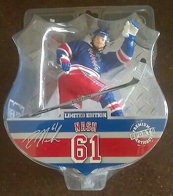 "Rick Nash New York Rangers NHL Imports Dragon 6"" Player Action Figure"