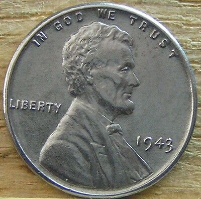 1943 Lincoln  Wheat Cent Penny Uncirculated From A Mint Roll