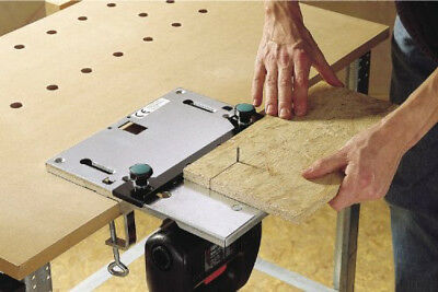 Wolfcraft  Jigsaw Table, Precision Jigsaw Shape Cutting Work with 2 Steel Clamps