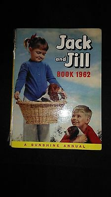 Jack And Jill Book 1962 Vintage Childrens Annual