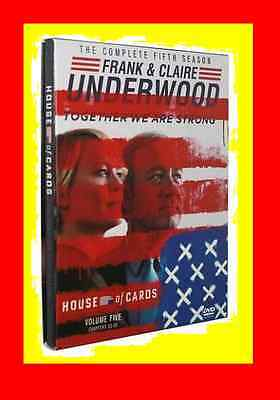 New & Sealed House of Cards Season 5 (DVD, 2017,4-Disc Set)