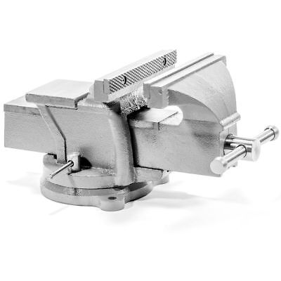 "8"" Bench Vise Clamp Tabletop Vises Swivel Locking Base Work Bench Top anvil"