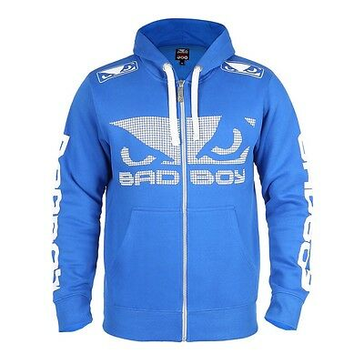 Bad Boy Walkout 3.0 Hoodie Blue Hoody BJJ No Gi MMA Casual Muay Thai Boxing