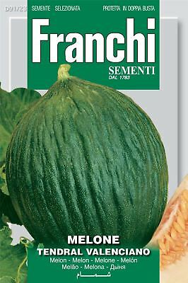 Franchi Seeds of Italy - Melon - Tendral Verde - Seeds