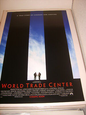 WORLD TRADE CENTER (2006) US AUTHENTIC ORIGINAL 27x40 DS MOVIE POSTER (468)