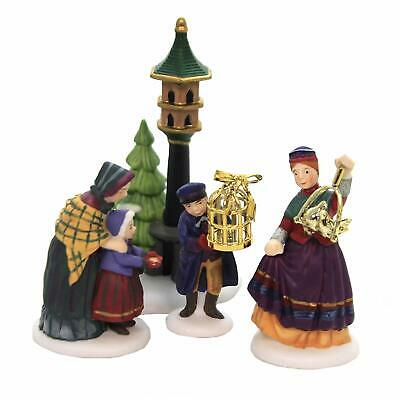 Department 56 New Orig Box II 2 Turtle Doves 12 Days Dickens Village Heritage
