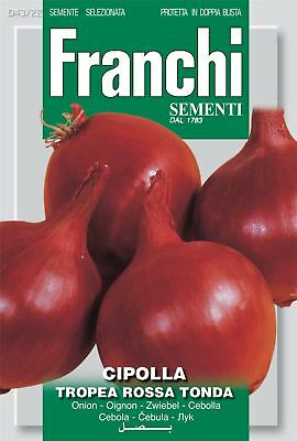 Franchi Seeds of Italy - Onion - Tropea Rossa Tonda - Seeds