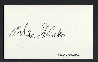 "Arlene Golonka signed autograph 3""x 5"" card ""Andy Griffith Show"" Millie Swanson"