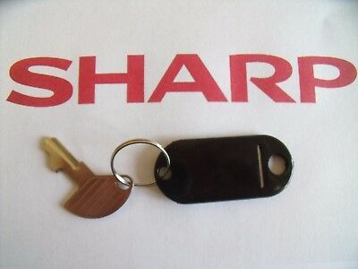 Original Master Key For Sharp Xe-A107 Cash Register Shop Till All Variations