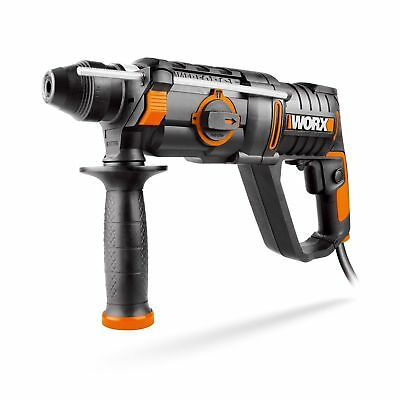 Worx 750W Rotary Hammer 3-in-1 Electric Chisel, Hammer and Drill - SDS Chuck