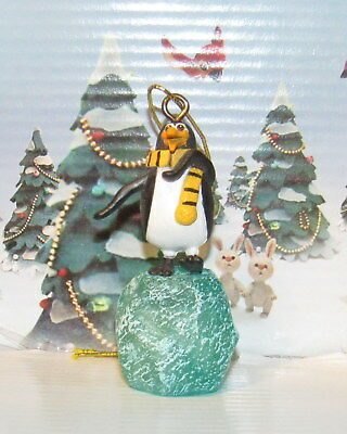 Santa Claus is Coming to Town Topper the Penguin Ornament