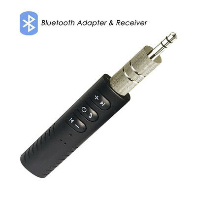 Wireless Bluetooth Phone To AUX 3.5mm Car Stereo Audio Music Receiver Adapter