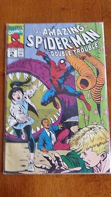 THE AMAZING SPIDER-MAN Comic Book. Vol 1 #2 1990! By Marvel Comics. A must See!