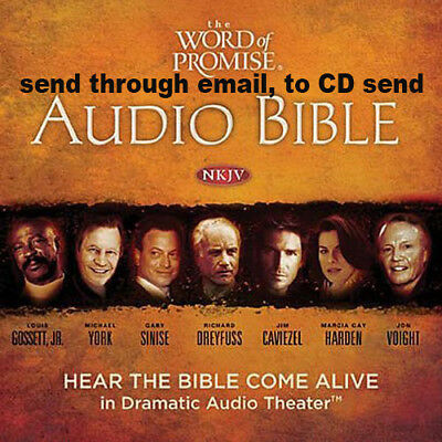The Word of Promise Complete Audio NKJV Bible OT & NT (Audiobook + digital book)