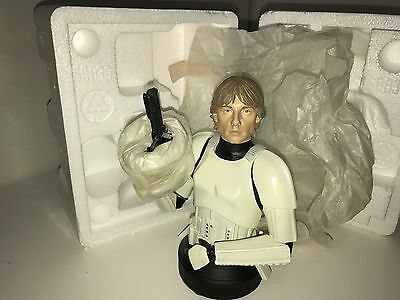 Gentle Giant Star Wars Luke Skywalker Stormtrooper Disguise Bust