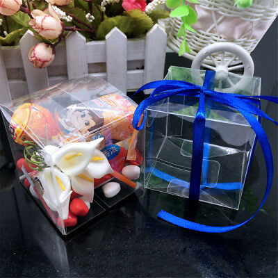 Clear PVC Macaroon Muffin Cake Cupcake Boxes Wedding Favor Party Gift Packing