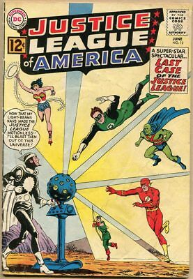 Justice League Of America #12 - G+ - 1st Appearance Of Dr. Light