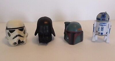 Disney Antenna Topper Star Wars R2D2 Darth Vadar Bobbafet Stormtrooper Mickeys