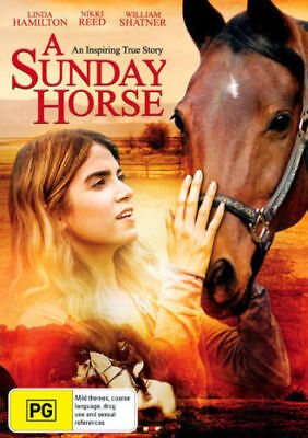 A Sunday Horse DVD NEW RELEASE FAMILY SHOW JUMPING EQUESTRIAN SPORT BRAND NEW R4